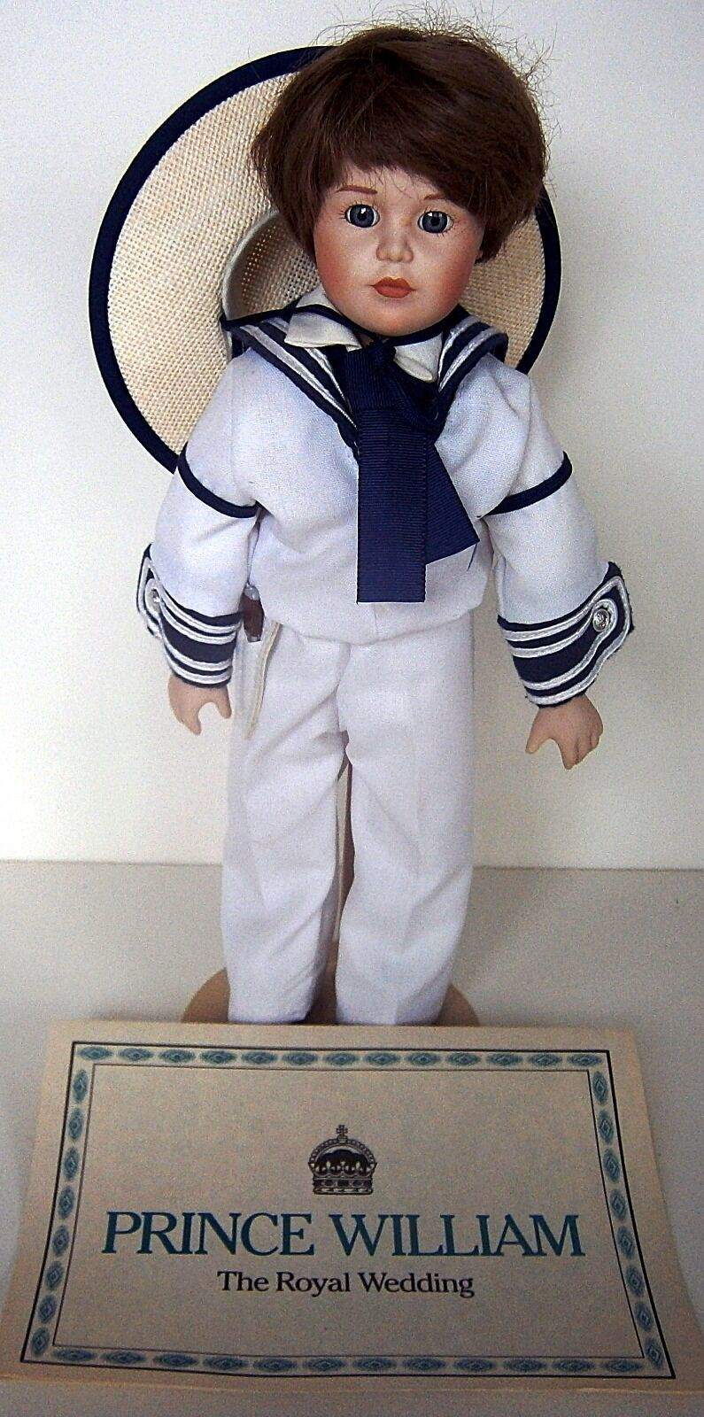 Prince William The Royal Wedding Doll by Danbury Mint
