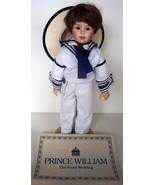 Prince William The Royal Wedding Doll by Danbury Mint - $42.56
