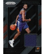 Mikal Bridges Prizm 18-19 #90 Sensational Swatches Rookie Jersey Phoenix... - $3.50