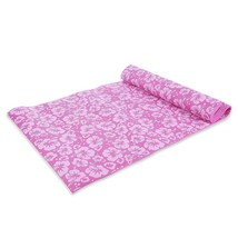 Flower Printing Health Weight Exercise Pad Red Yoga Mat Fitness Pad Equ... - £22.80 GBP