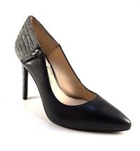 Jessica Simpson Pretta Black Leather Pointy Stiletto Pumps - $79.00