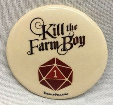 KILL THE FARM BOY The Tales of Pell NYCC Comic Con 2018 EXCLUSIVE PROMO PIN - $7.92