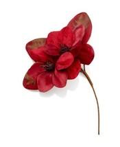 Holiday Lane 14″ Red Magnolia Tree Pick - $15.80