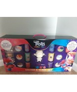 Trolls World Tour Squish and Slime Set Dreamworks Paint Your Own Squishy... - $29.65