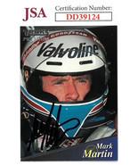 Mark Martin signed NASCAR 1994 Traks Premium Racing Trading Card #113- J... - $23.95