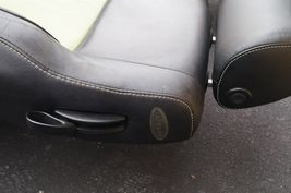 00-04 Volkswagen Vw Beetle Bug Hatchback Turbo GLS Leather Seat Set Green & BLK image 8