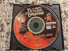Blazing Dragons (Sega Saturn, 1996) DISC ONLY - $29.60