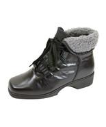 PEERAGE Hazel Women Wide Width Leather Casual/Dress Lace Up Bootie  - $76.45