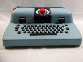 Play Typewriter 1950's Louis Marx Dial Junior IBM Lookalike Vintage Chil... - $21.49
