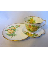 "Vintage Royal Albert ""Tea Rose"" English Bone China Dessert Cup & Saucer ... - £14.73 GBP"