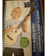 First Act Learn & Play Guitar Instruction Book - $11.93