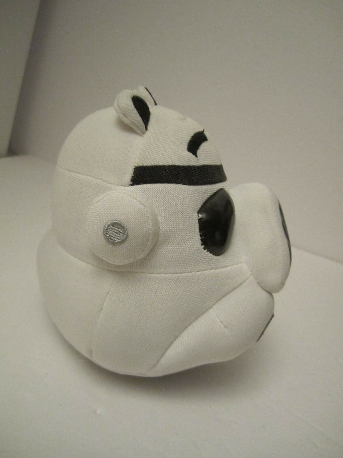 Angry Bird Star Wars Plush Stormtrooper Pig + Darth Vader Clip NM PRE-OWNED image 6