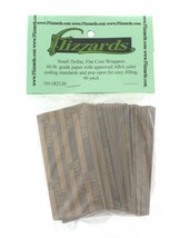 Small Dollar Flat Coin Wrappers, 40 pack - $5.49