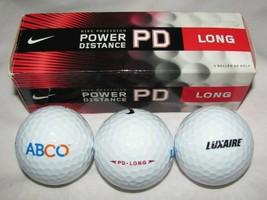 New NIKE Precision Golf Balls PD Long Box of 3 White Balls Power Distanc... - $9.49