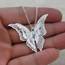 Women's Jewelry Butterfly Pendant & Necklace Chain - $14.79