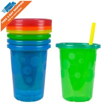 4 COUNT The First Years Take Toss Spill-Proof Baby Training Sippy Cups w... - $2.99