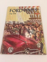 Ford Times July 1948 - Good Used Condition Magazine - $14.99