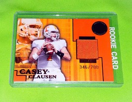 Nfl Casey Clausen 2004 Press Pass GAME-WORN Jersey /700 Mnt - $1.83