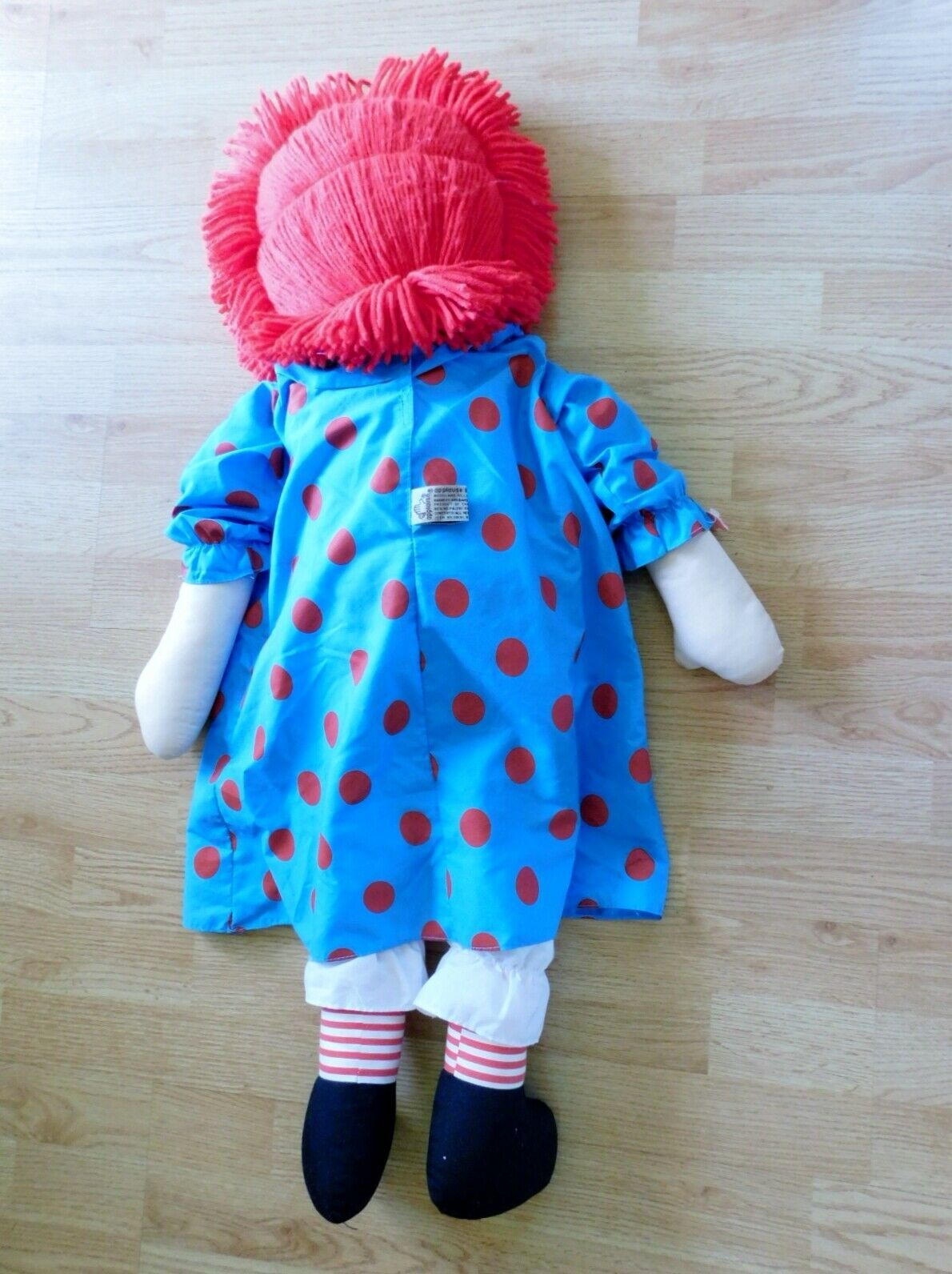 "(2) 36"" RAGGEDY ANN DOLLS with Hangtags Applause image 11"