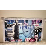 Vogue Magazine Print Cosmetic Makeup Beauty Bag Clutch Gifts Under 10 Do... - $5.93