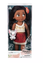 Disney 2019 Animators' Collection Moana with Pua Doll New with Box - $38.80