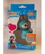 HAPPY SQUIRREL ELECTRONIC INTERACTIVE FINGER PET Blue FUN TOYS FOR KIDS - $7.43