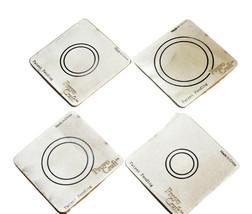 "Provo Craft Cuttlebug 2"" x 2"", Circle Frames Dies, Set of 4"