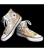 Converse Chuck Taylor All Star High Top Metallic Gold Men 6 Women 8 153178F - $49.99