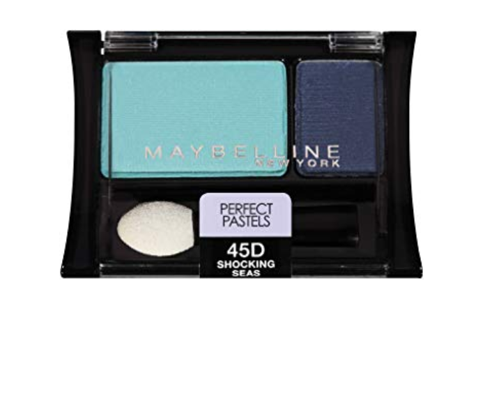 Two (2) Maybelline Eyeshadow Duos ~ 45D Shocking Seas ~ 80D Grey Matters (134) - $11.88
