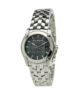 Burberry BU1851 Check Small Black Dial Swiss Made Womens Watch - $336.83