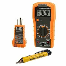 Klein Tools 69149 Multimeter Test Kit, Multimeter, Noncontact Voltage... - $48.06