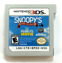 Nintendo Game Snoopy's grand adventure - $11.99