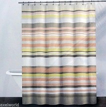 "DKNY ""TWINE"" 1PC SHOWER CURTAIN SPA FABRIC 72x72 ~bnip~ - $40.18"