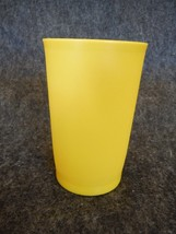 Tupperware 1320 Yellow 8 Ounce Tumbler  - $2.69