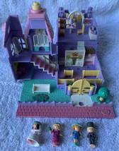 Polly Pocket Wedding Chapel 1993 LIGHTS UP Bluebird Vintage 99% Complete - $64.34