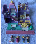 Polly Pocket Wedding Chapel 1993 LIGHTS UP Bluebird Vintage 99% Complete - $64.34
