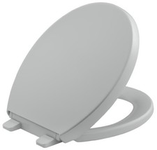 KOHLER K-4009-95 Reveal Quiet-Close with Grip-Tight Bumpers Round-front Toilet S - $63.17