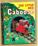 Little Golden Book -- THE LITTLE RED CABOOSE (1991 Edition) by Marian Po... - $4.00