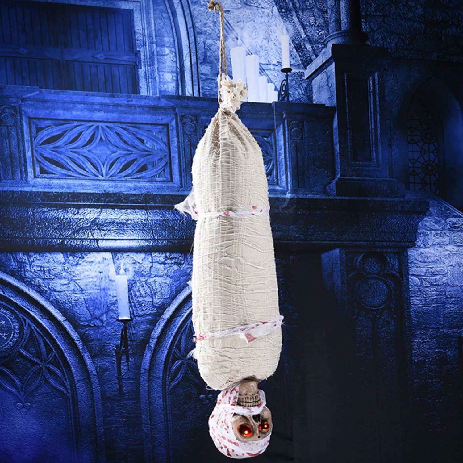Halloween Decoration House Bar Party Prop Scary Thrilling Decor Hang Mummy Ghost