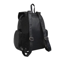 Jumbo leather backpack black thumb200