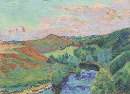 The Museum Outlet - Landscape of Creuse, 1908 - Canvas Print Online Buy ... - $79.19