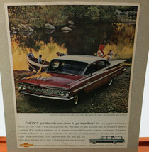 1959 Chevy Bel Air Ad- 8.5 by 11 inches - $23.20