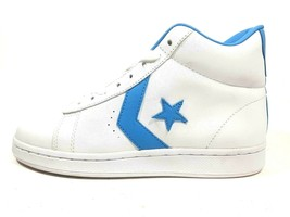 Converse Mens Shoes Pro-Leather High Top Sneakers Leather White 1J481 SZ 9 - $39.99