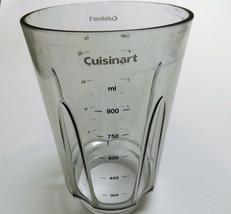Cuisinart Compact Portable Blender Jar Pitcher Part NO LID CPB-300 - $10.19