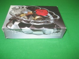 Mikasa Studio Nova Nature's Harvest Grape Glass Bowl Candy Dish WX009/364 - $8.56