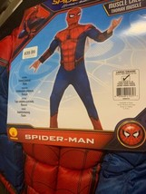 Rubie's Large Marvel Spider-Man Homecoming Deluxe Muscle Chest Child Cos... - $25.73