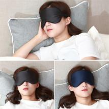 Dual Layer Imitated Silk Shading Eyeshade Cover Eye Mask Nap Sleeping Bl... - $3.55 CAD
