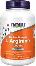 NOW Supplements, L-Arginine 1,000 mg, Nitric Oxide Precursor*, Amino Acid, 120 T - $18.07