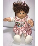 CABBAGE PATCH BROWN HAIR Brown EYES XAVIER ROBERTS 1985 Rare Red Ink - $42.06