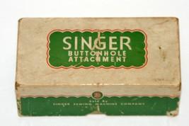 Vintage Singer Buttonhole Attachment 121795 - $21.28